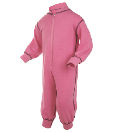 Onepiece, ullfrotte, rosa