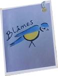 Blåmes - hemstickat